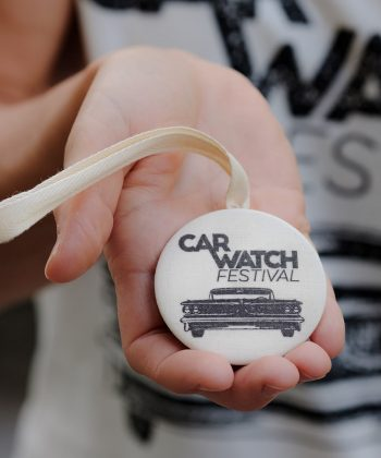 Car Watch Festival Button Front