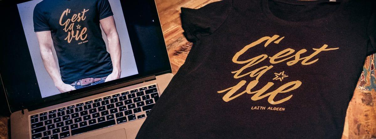 Laith Al-Deen, C'est La Vie Shirt