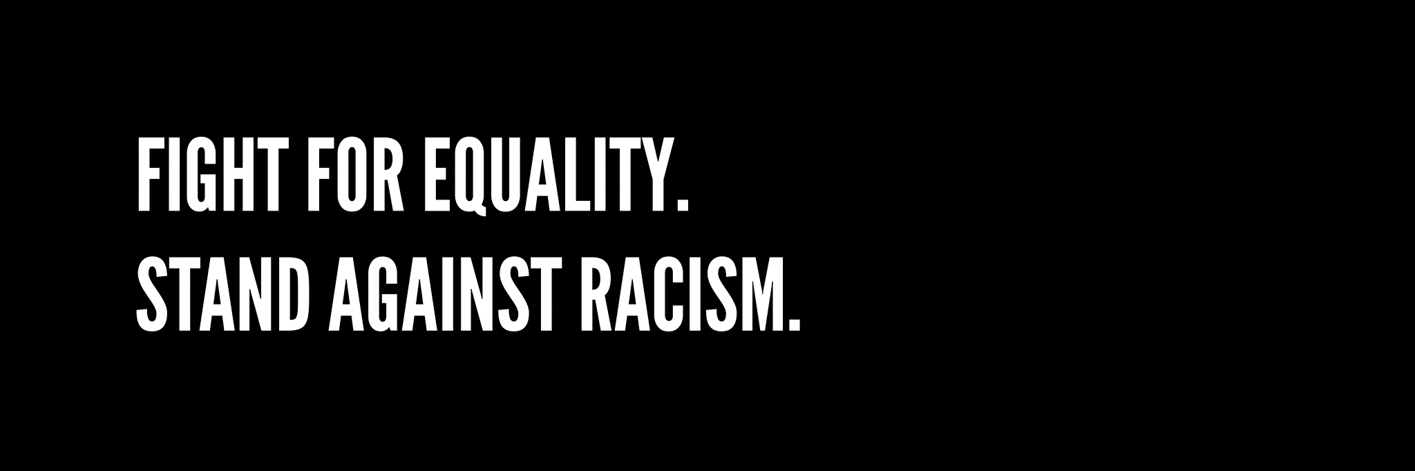 Stand Against Racism 1