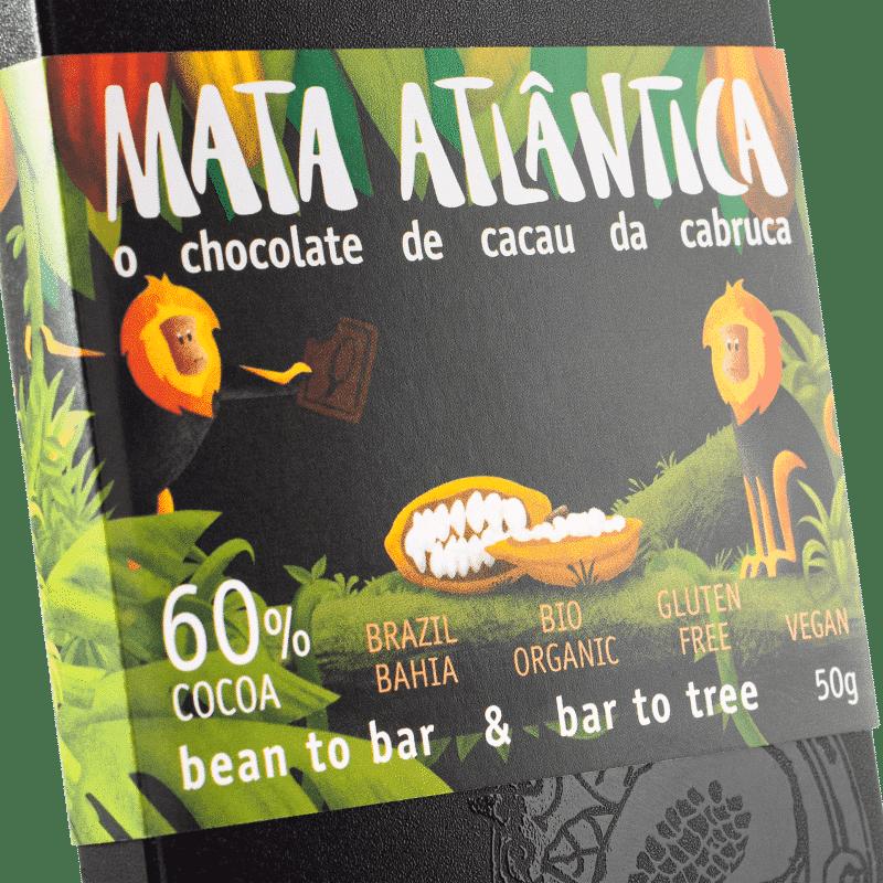 MATA ATLÂNTICA CHOCOLATE - 24 bars á 50g 1